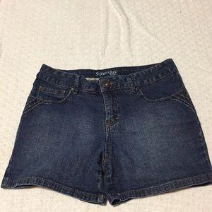 Size 10P Denim Short